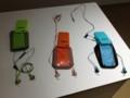 ボーズのスポーツヘッドホン と Bose オリジナルiPhone 5ケース