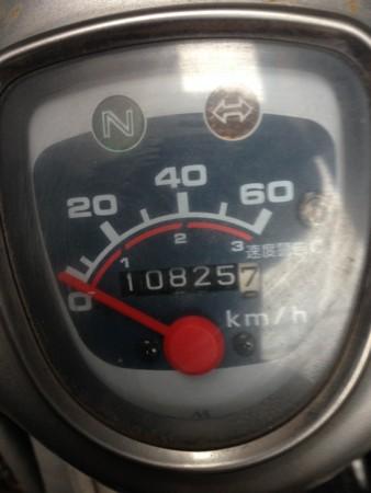スーパーカブ速度計