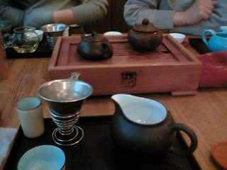 中国茶で90分
