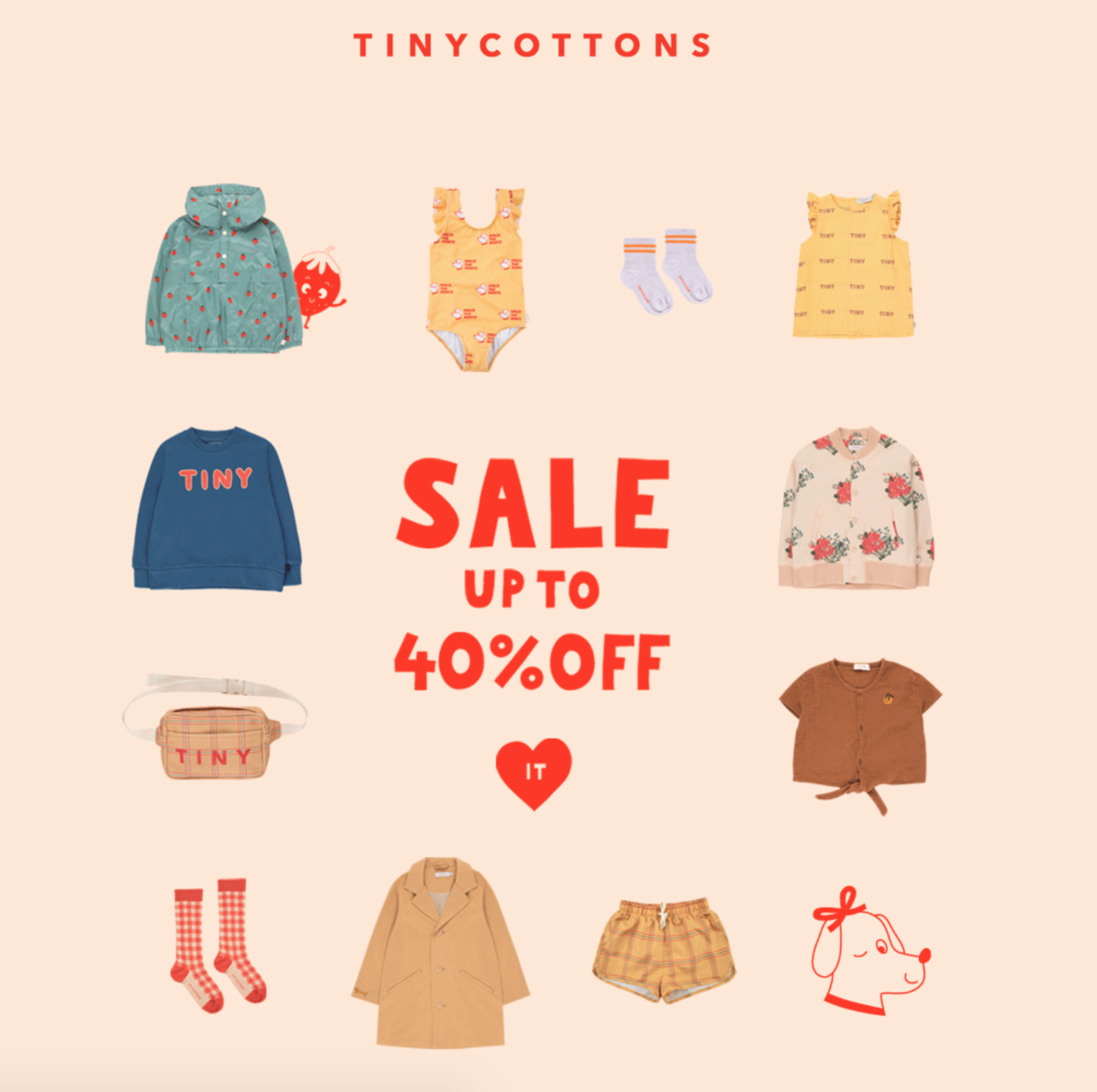 tinycottons sale