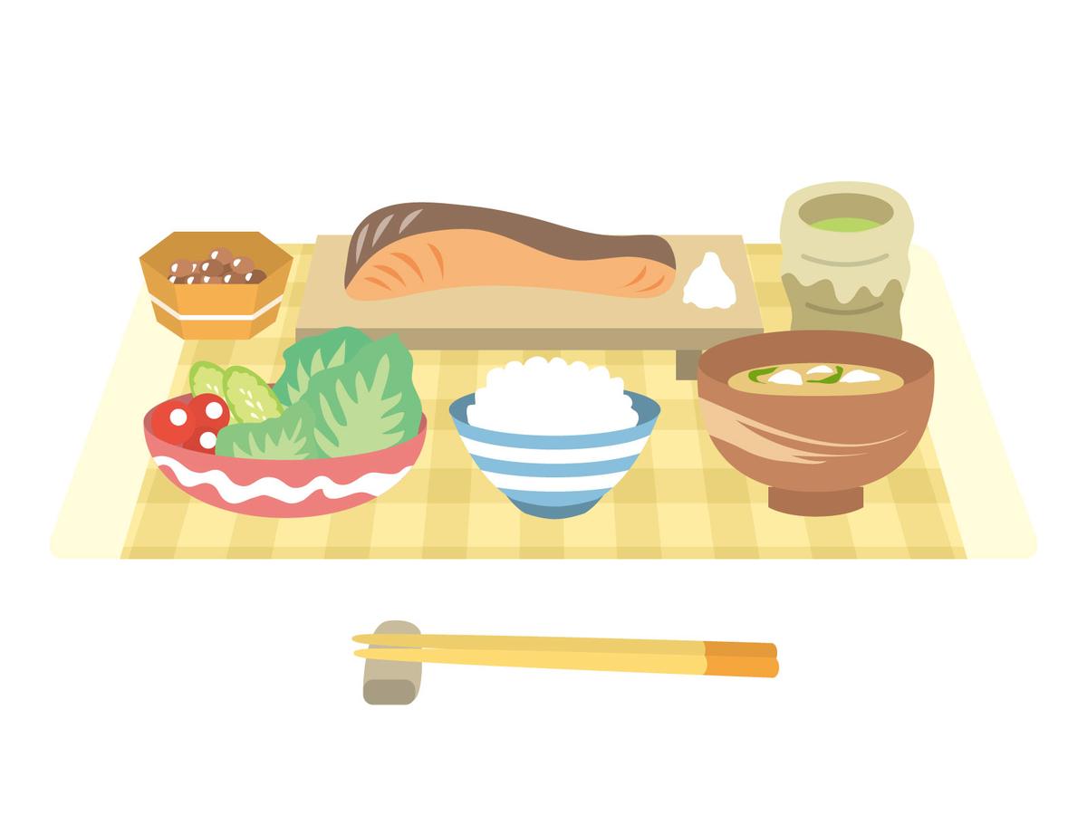 日本食, 納豆, 鮭