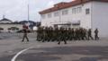 陸上自衛隊第382施設中隊行進之圖