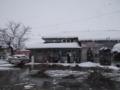 厳冬のJR城端駅之圖