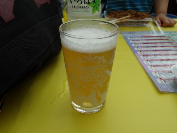 スワンレイクビール「越の米こしひかり仕込」之圖
