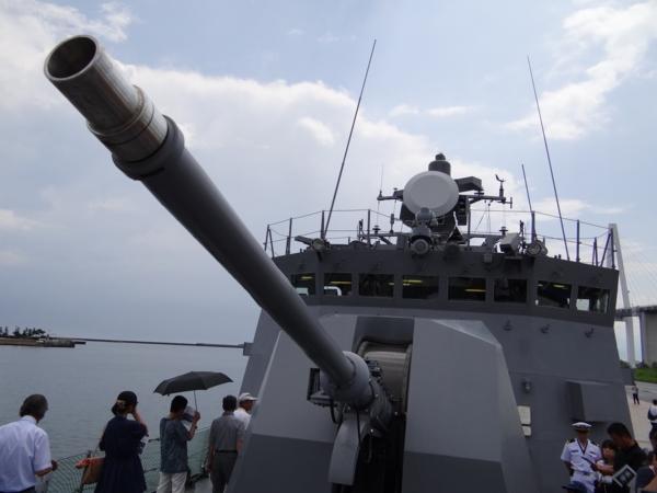 62口径76mm速射砲之圖