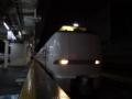 富山駅に入線する特急サンダーバード683系之圖