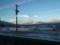 安曇川駅で強風抑止中之圖