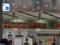 JR新大阪駅の列車運行案内板之圖