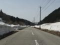続・国道471号線南砺市旧利賀村之圖