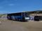 なぎさドライブウェイを走る大型バス之圖