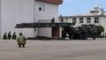 81式自走架柱橋訓練展示之圖