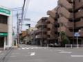 [むさむら聖地巡礼]都道5号線(青梅街道)かたくりの湯入口交差点①