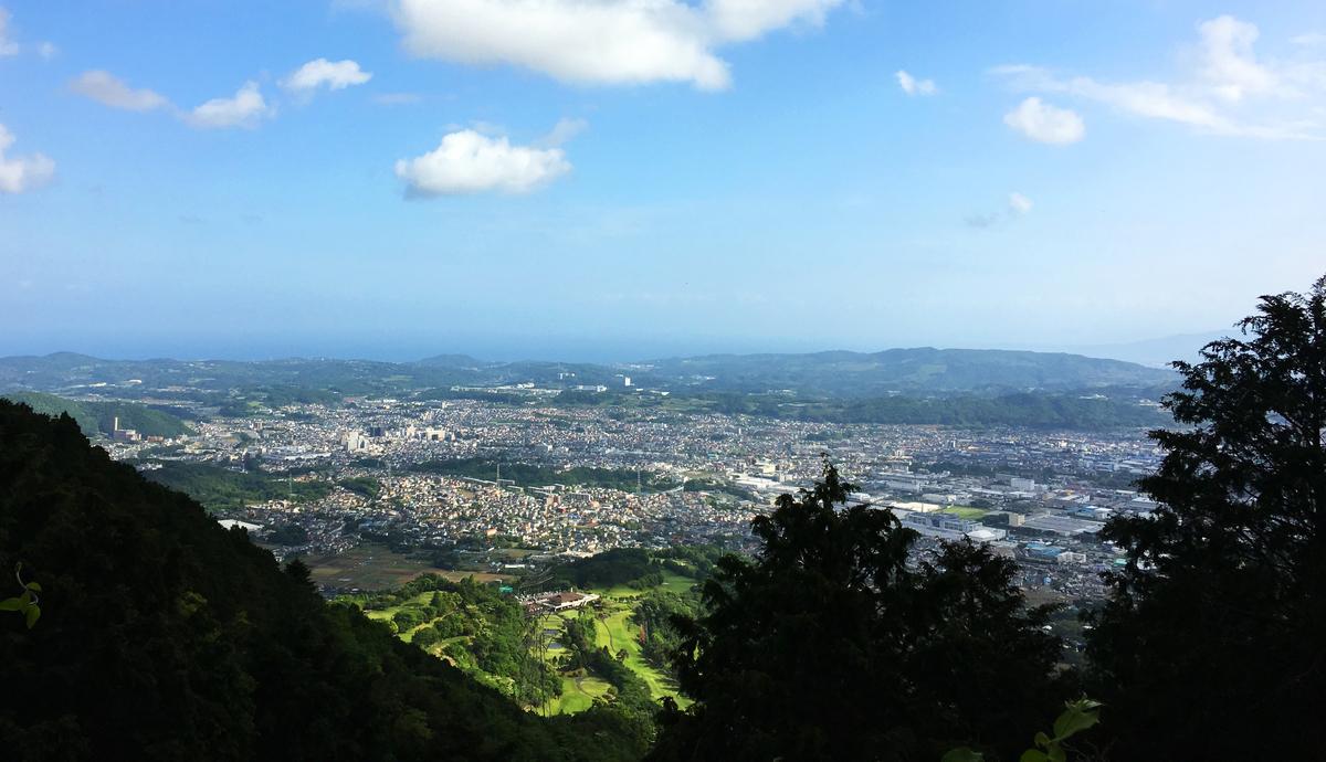 ヤビツ峠からの風景