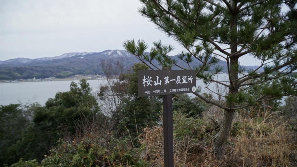 桜山第一展望所