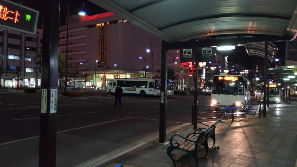 福山駅 バスロータリー