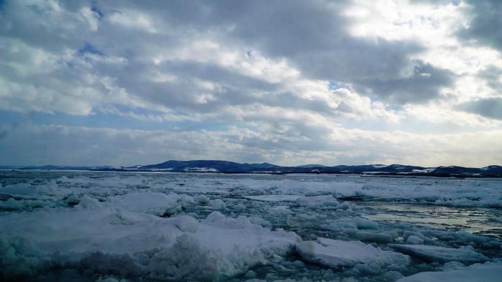 流氷 オホーツク海