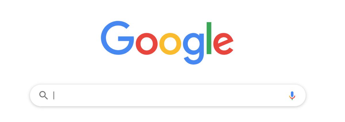 グーグルの検索タブ