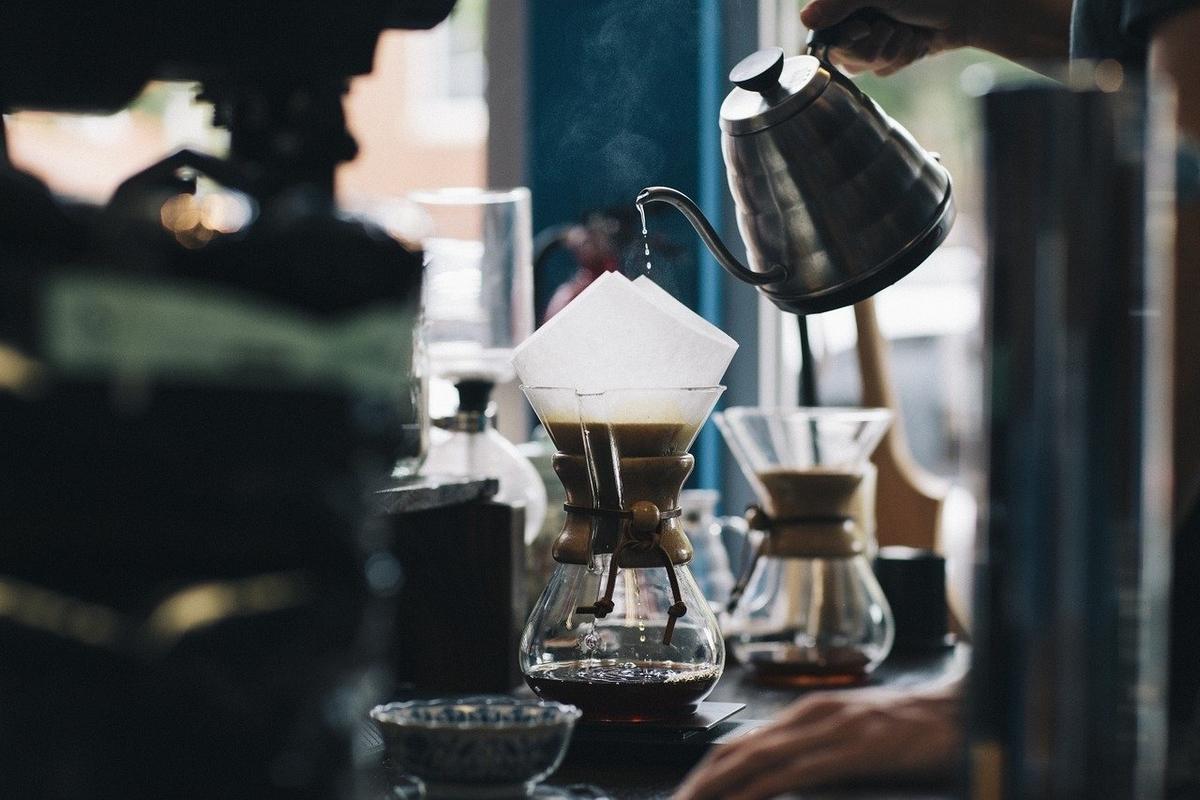 コーヒードリップの写真
