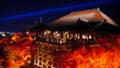 京都新聞写真コンテスト 紅葉燃える清水寺