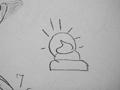 [CT][視覚と現実][メイ][下ネタ]物凄く神々しいうんこを描いてくれた