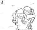 [ヒズ]隊長だって、泣きたいときは泣いていいんですよ