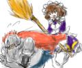 [shadowverse][大掃除][古の英雄]大掃除される古の英雄の図