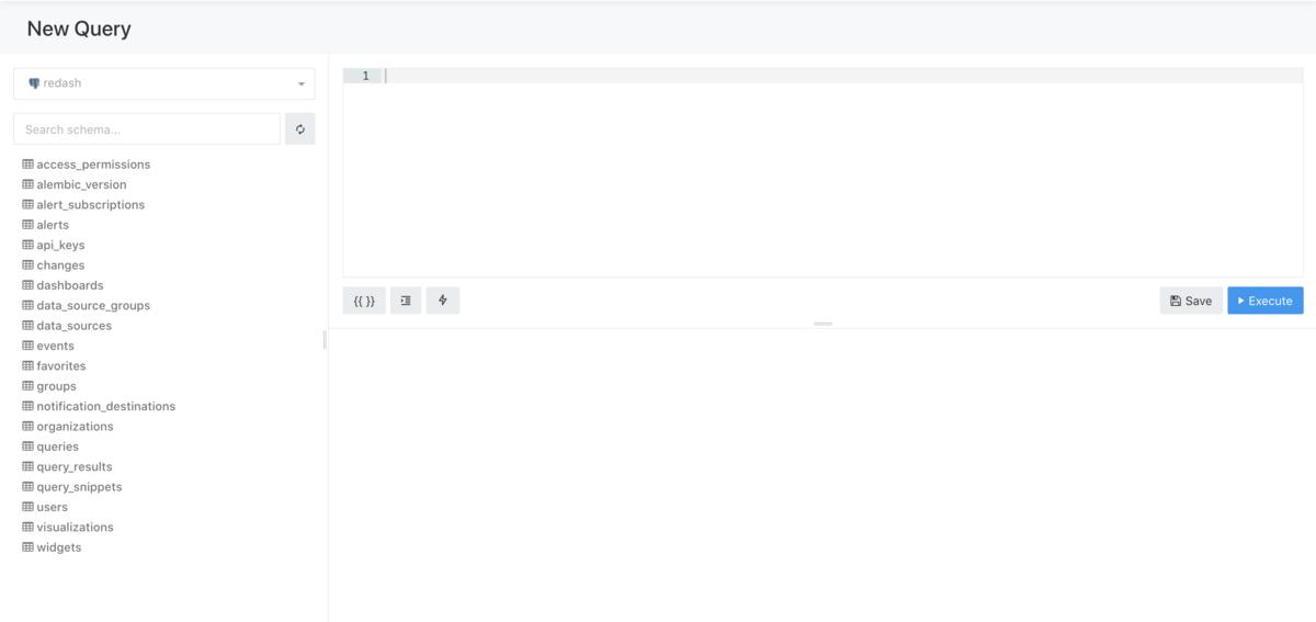 Redash のデータソース接続確認