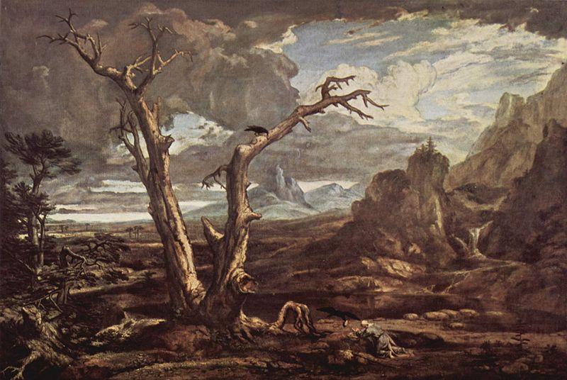 Washington Allston: Elijah in the Desert