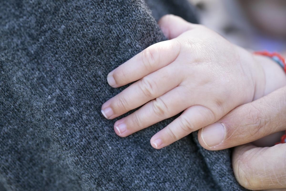 5か月児の手