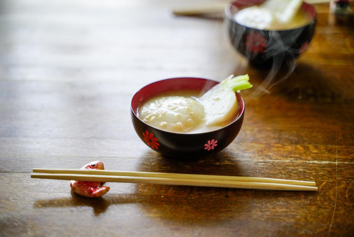 福井風のお雑煮