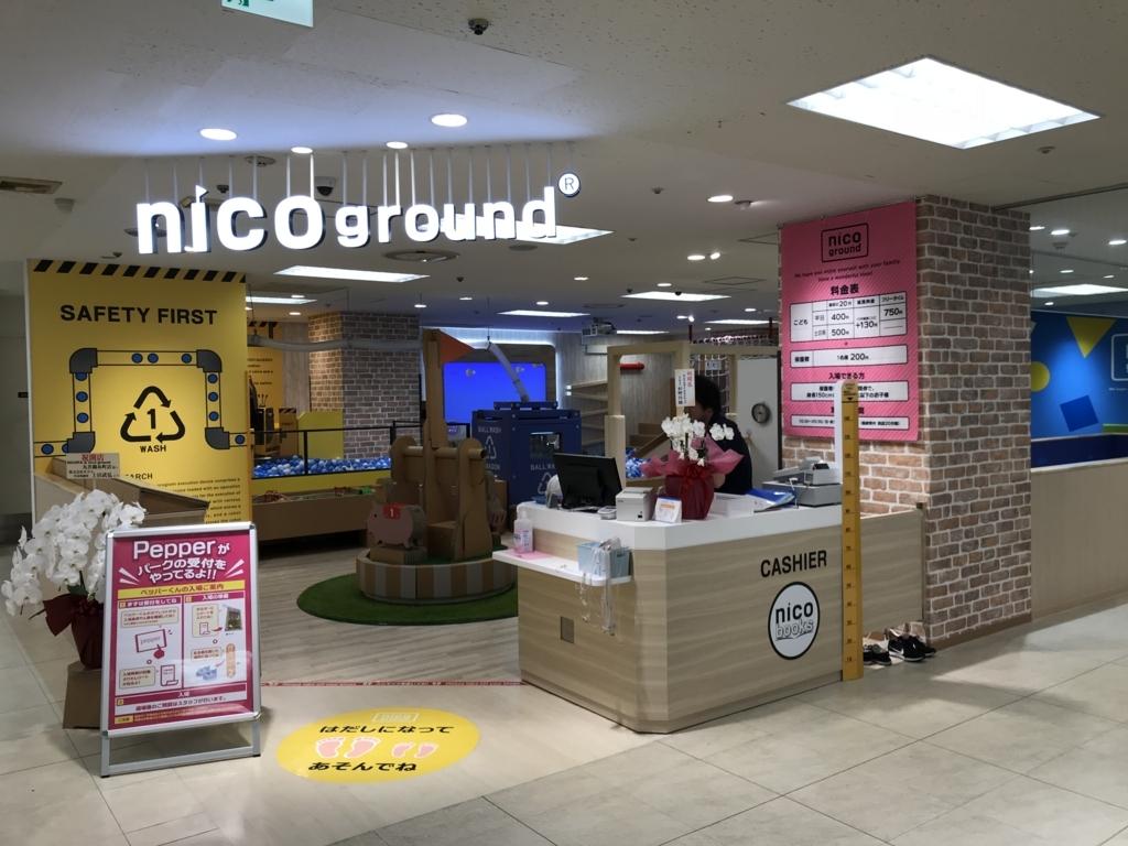 nicoground丸井錦糸町受付