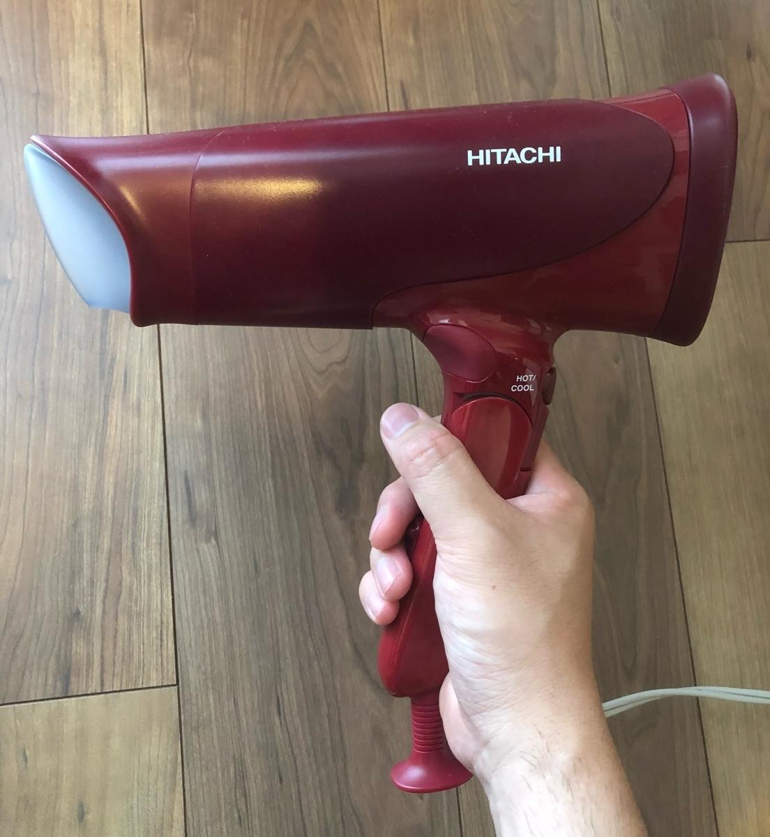 【時短】最強おすすめドライヤー!親が髪を乾かすなら日立のこれしかない!HID-T600Bレビュー
