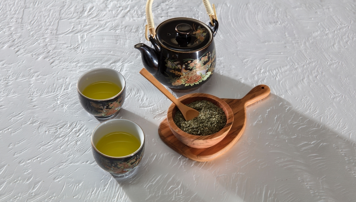 30分に1度はお茶を飲む