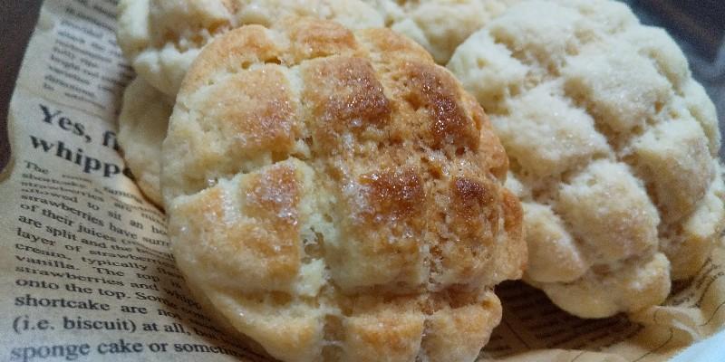 クッキーサクサク!メロンパン