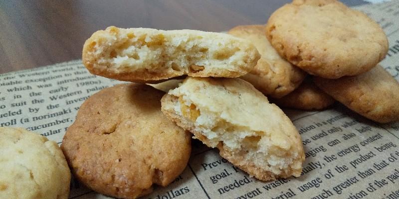 卵・バター不使用 コーンフレーク ザクザク クッキー