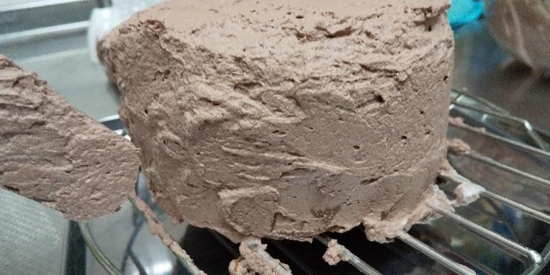 自力でショコラ ドゥーブルフロマージュを作る!