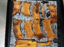 シフォンケーキラスク*トースターで楽々アレンジ