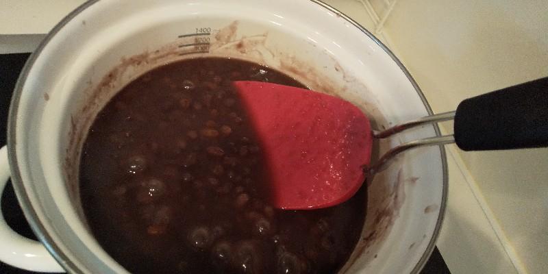 小豆から あんこを炊いてみたら最高においしかった話。