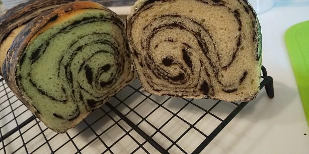 チョコ マーブル 食パン