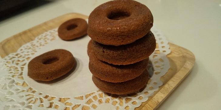 チョコ 焼き ドーナツ