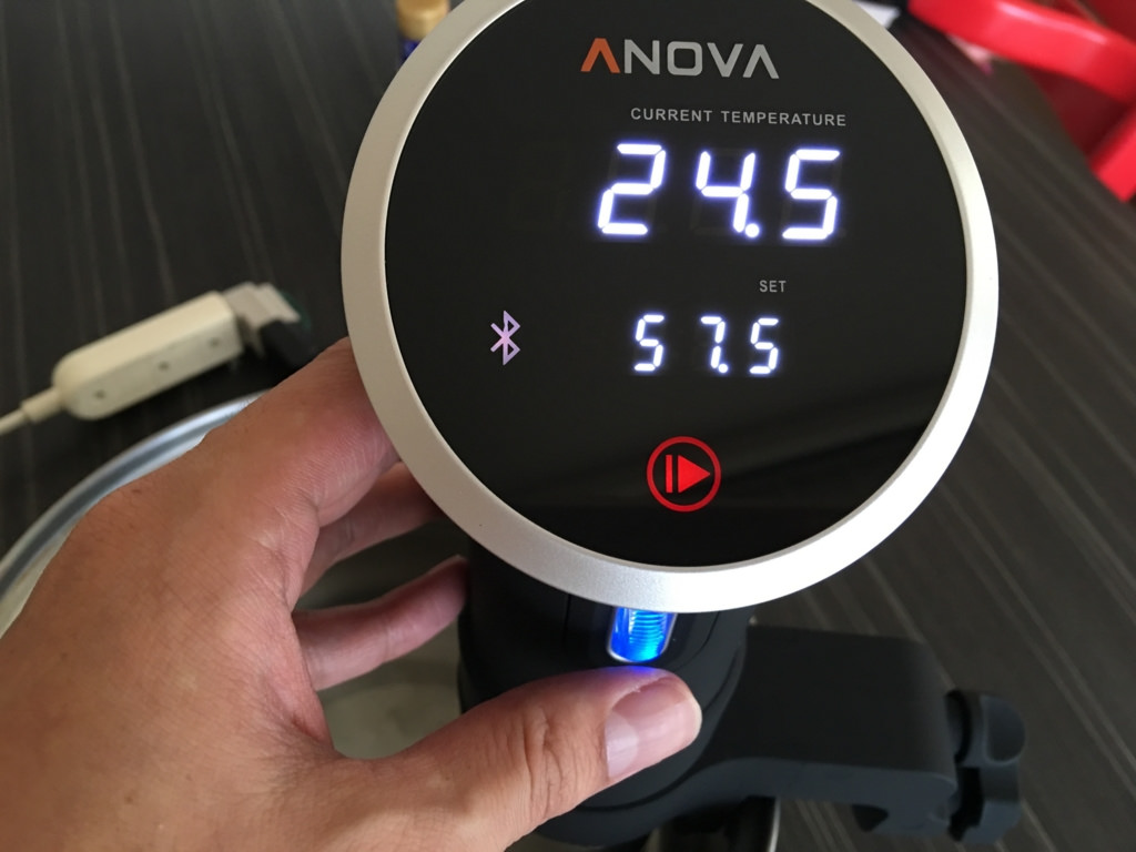 スティック型低温調理器の元祖、Anova Precision Cooker