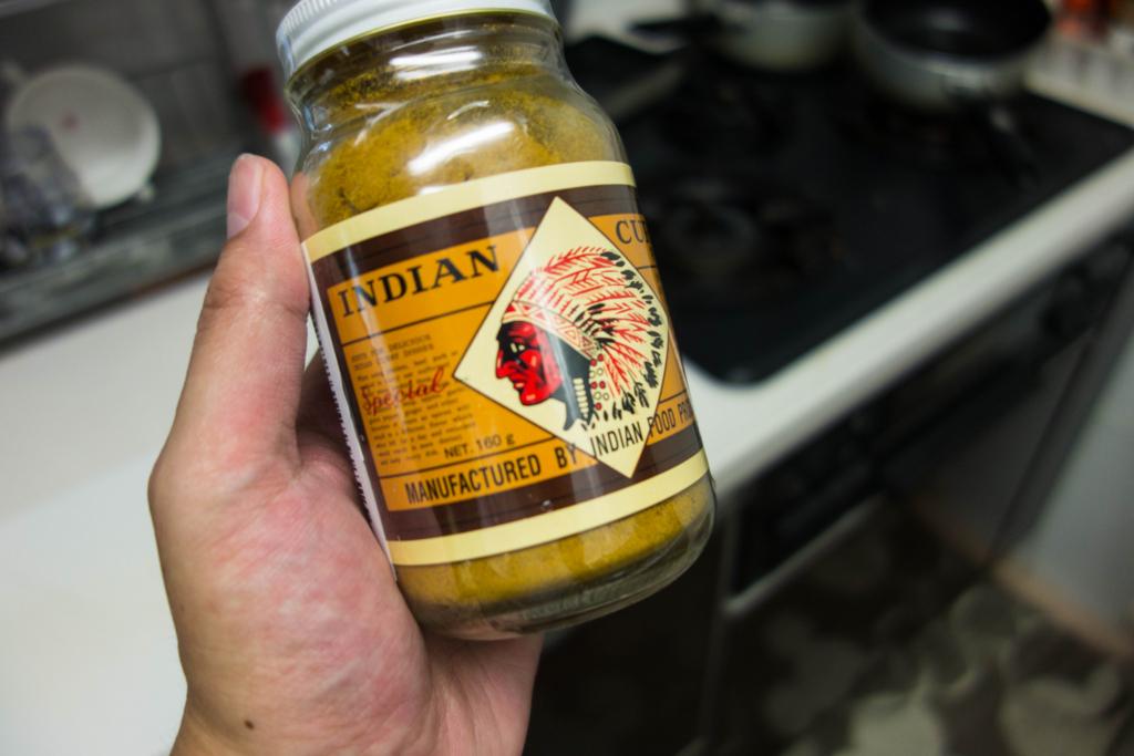 インディアン食品のカレー粉