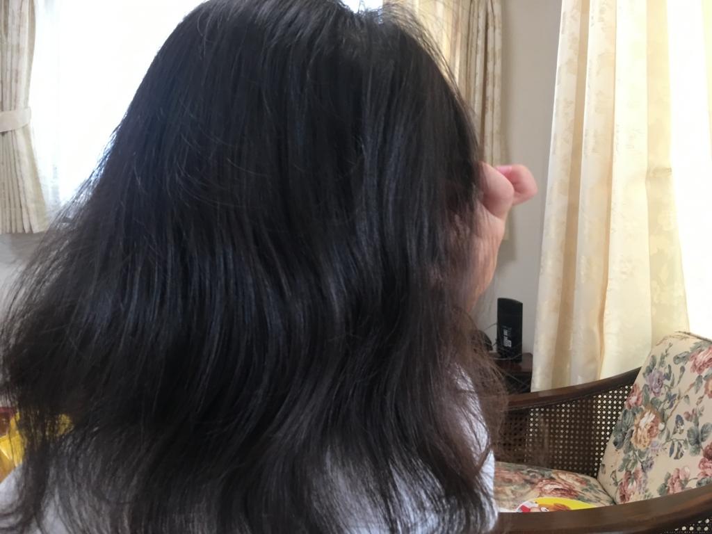 ブラシが毛に引っかからないので嫌がることなくブラッシングさせてくれる娘