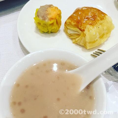 阿基師の宴会料理のデザート