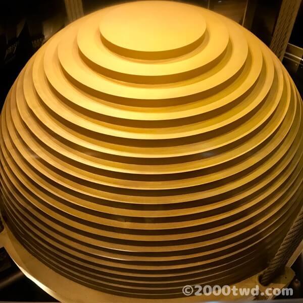 台北101のウィンドダンパー