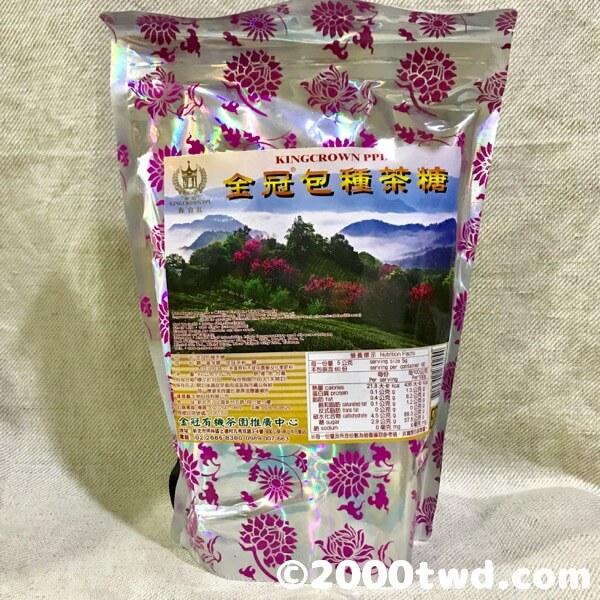 金冠包種茶糖・パッケージ袋