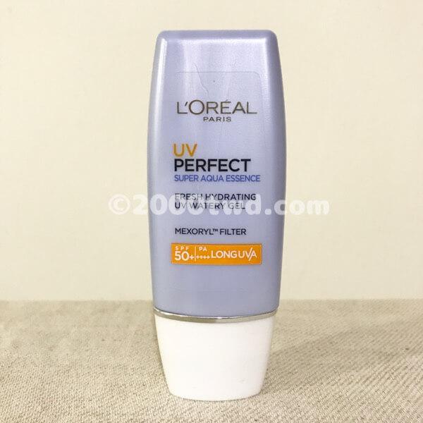 ロレアルパリ UV PERFECT(スーパーアクアエッセンス)本体