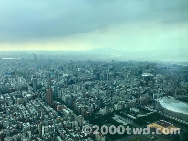 台北駅方面の景色