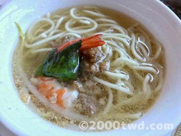 看板メニュー台南担仔麺