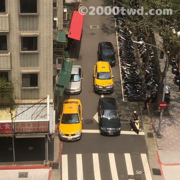 台湾のタクシーは黄色いので小黃と呼ばれます